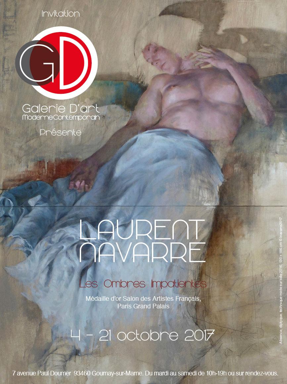 Exposition peintre Laurent Navarre Galerie GD