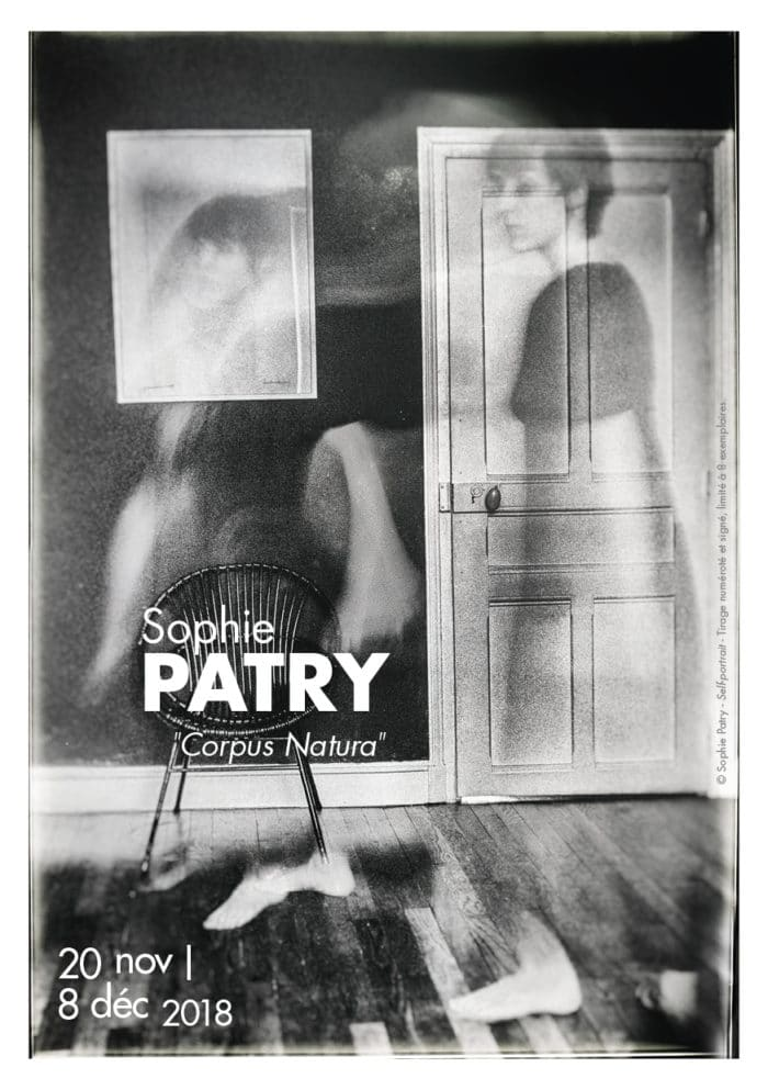 Flyer Exposition Sophie Patry photographe. Galerie GD