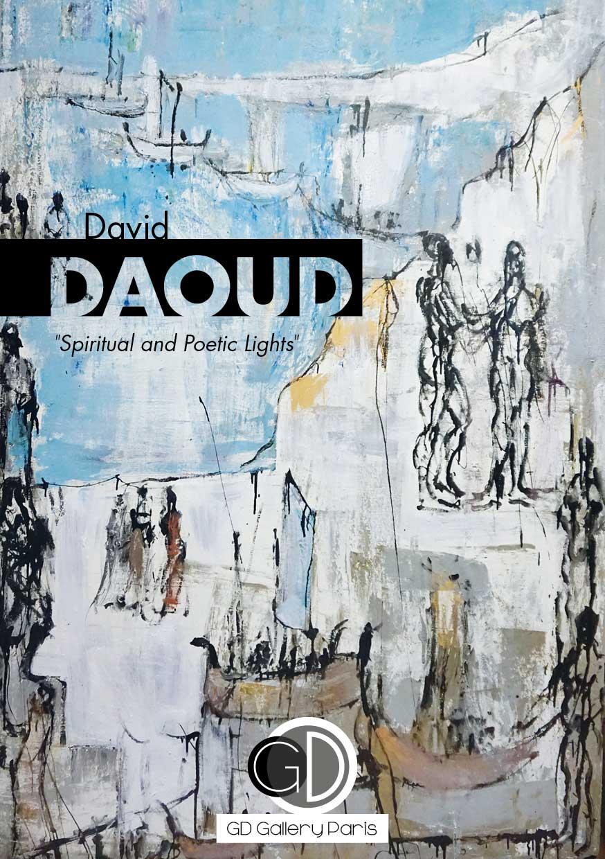 Flyer Exposition David Daoud Beirut Art Far 2018 - Galerie GD