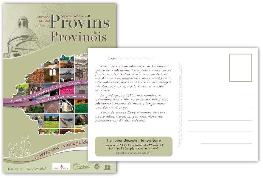 Carte-Postale Office du tourisme de Provins et du provinois