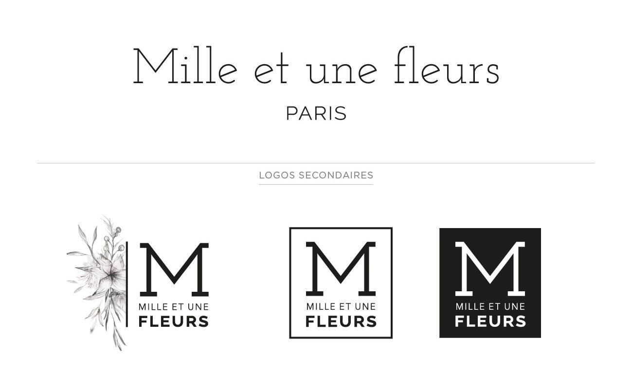 Identité visuelle : Logos principal et logos secondaires