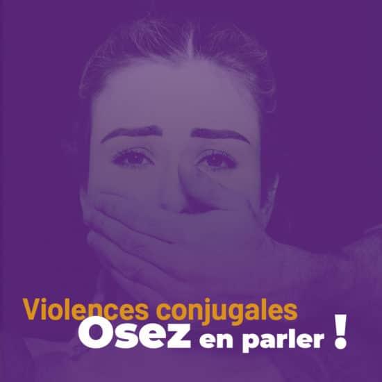 Dépliant pour les femmes victimes de violences conjugales
